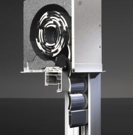 Enext The Innovative Top Mounted Roller Shutter System