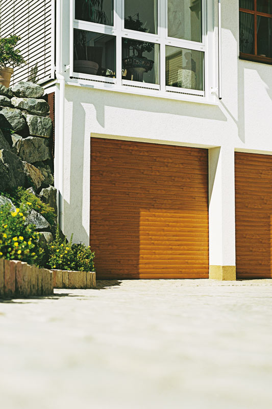 The Space Saving Aluminium Garage Door The Resident