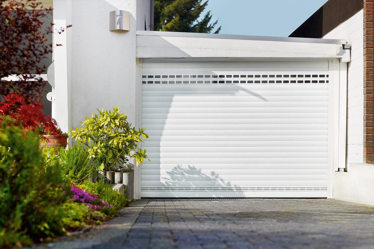 The Ultra Silent Aluminium Garage Door The Detolux Overhead Door